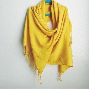 Yellow lightweight Scarf